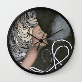 Uplifted Wall Clock