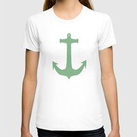 anchors T-shirts featuring Anchors Away! by Carissa W.