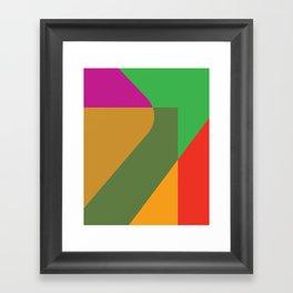 Cacho Shapes XC Framed Art Print