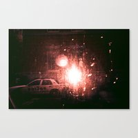 outer space Canvas Prints featuring Outer Space by Samuel Archer