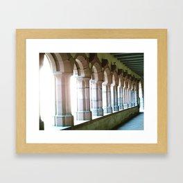 Worms abbey. Framed Art Print