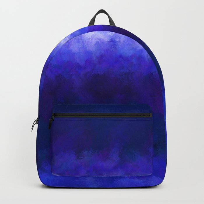 Blue Energy Abstract Rucksack