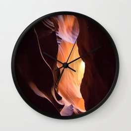 The Colors of the Canyon Wall Clock