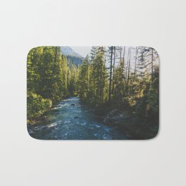 Morning at Agnes Creek - Pacific Crest Trail, Washington Bath Mat