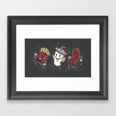 Let's All Go To The Show-Show Framed Art Print