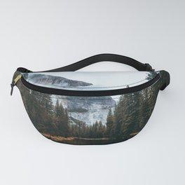 Misty Yosemite River Fanny Pack