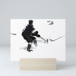 The Deke - Hockey Player Mini Art Print