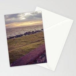 Empty Coast of Montevideo Uruguay Stationery Cards
