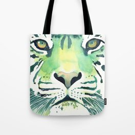 Green Tiger Tote Bag