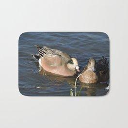 American Wigeons Bath Mat