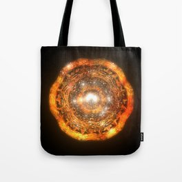 The Eye of Cyma: Fire and Ice - Frame 7 Tote Bag
