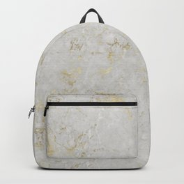 Raw Marble Gold Mine Backpack