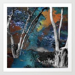 Light in the Wilderness Art Print