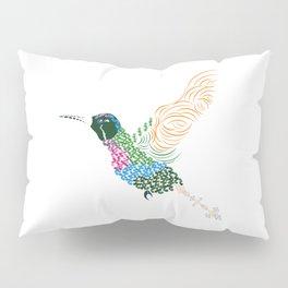 Abstract Hummingbird ~ Garnet-throated Variant Pillow Sham
