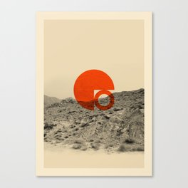 Symbol of Chaos Invert version Canvas Print
