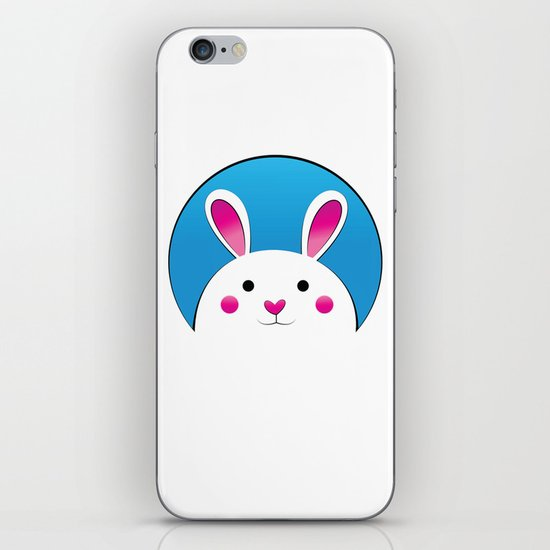 Chubby Bunny iPhone & iPod Skin