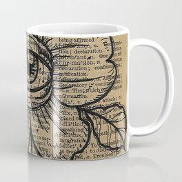 Flower with Eye: Beauty is in the Eye... Coffee Mug
