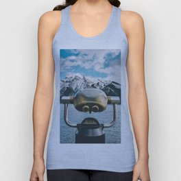 Lake Minnewanka III Unisex Tank Top