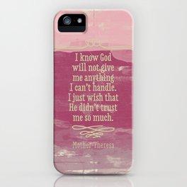 Go girl! iPhone Case