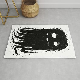 Ink Ghostie Rug