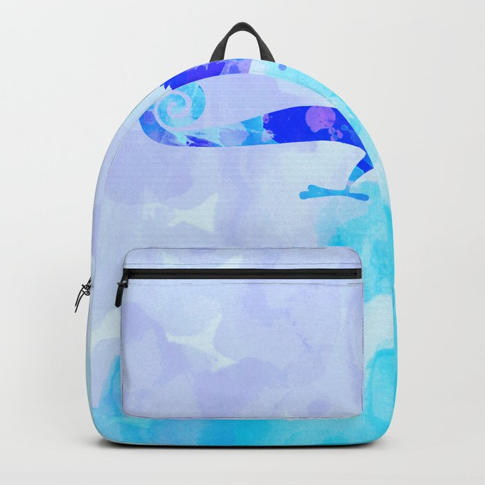 Abstract Chameleon Reptile Backpack