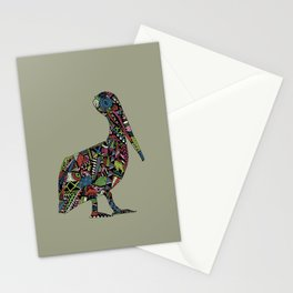 Shafted Pelican Stationery Cards