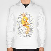 freeminds Hoodies featuring Magic Canary by Freeminds