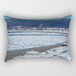 Frozen Beach Rectangular Pillow