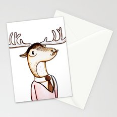 Professor Caribou Stationery Cards
