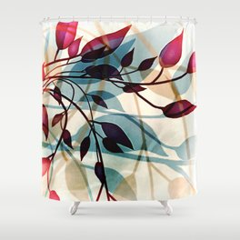 Flood of Leafs Shower Curtain