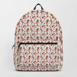 Merry Christmas Goats Backpack