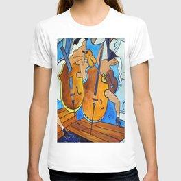Symphonie de Cobalt T-shirt