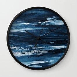 It Comes In Waves III Wall Clock