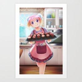 Baking Kurara Art Print