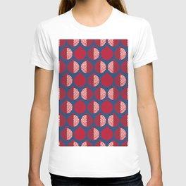 Pomegranate Line Up Blue T-shirt