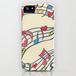 Lovely Melody iPhone Case