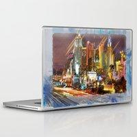 las vegas Laptop & iPad Skins featuring Vegas by Robin Curtiss