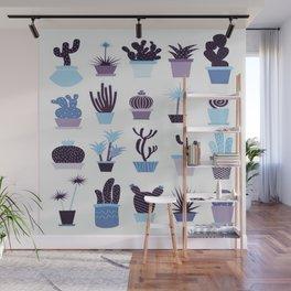 MIX SUCCULENTS Wall Mural