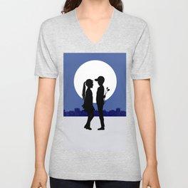 Moonlight promises Unisex V-Neck