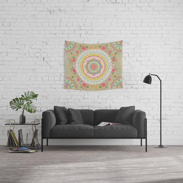 Spring Awakens Wall Tapestry