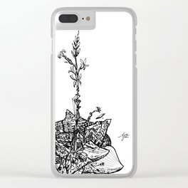Garden of Danger Clear iPhone Case