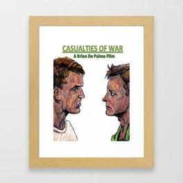 Casualties of War Framed Art Print