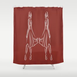 Vanity 9 Shower Curtain