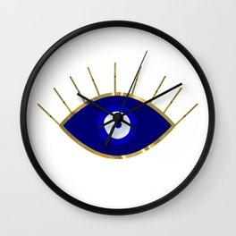 I See You Evil Eye Wall Clock