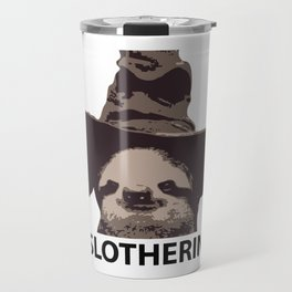 Slotherin (Slytherin + Sloth) Travel Mug