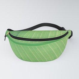Green Plant Leaf Fanny Pack
