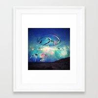 ballet Framed Art Prints featuring Ballet by Cs025