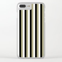 TEAM COLORS 4 .....gold,black Clear iPhone Case