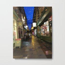 Street In Bath Metal Print