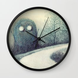Hiding Wall Clock
